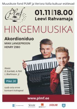 Hingemuusika @ Leevi rahvamaja | Leevi | Põlva maakond | Eesti