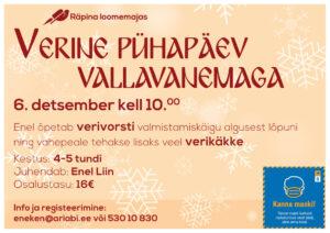 Verine pühapäev vallavanemaga @ Räpina | Põlva maakond | Eesti