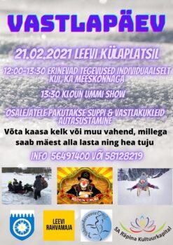 Vastlapäev Leevi moodi @ Leevi külaplats | Leevi | Põlva maakond | Eesti