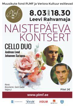 JÄÄB ÄRA! Naistepäeva kontsert @ Leevi rahvamaja | Leevi | Põlva maakond | Eesti