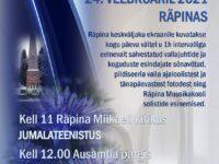 Jumalateenistus Miikaeli kirikus ja mälestushetk ausamba juures @ Miikaeli kirik; ausamba park | Räpina | Põlva maakond | Eesti