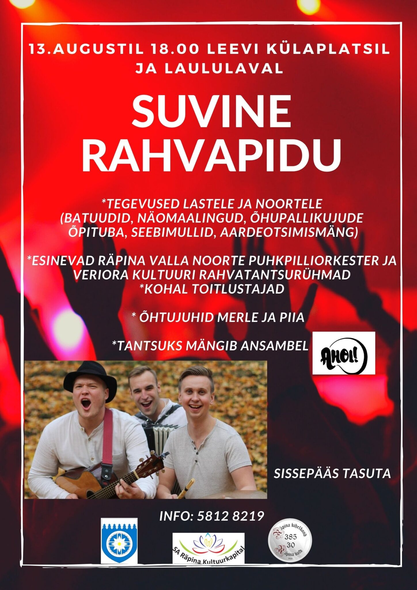 Suvine rahvapidu @ Leevi külaplats ja laululava | Leevi | Põlva maakond | Eesti