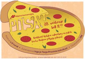 JÄÄB ÄRA! Pitsa valmistamise koolitus Räpina loomemajas @ Räpina | Põlva maakond | Eesti