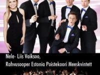 Nele-Liis Vaiksoo, Estonia Poistekoori Meeskvinteti ja Põlva Muusikakooli keelpilliorkestri kontsert @ Räpina Valla Kultuurikeskus | Räpina | Põlva maakond | Eesti