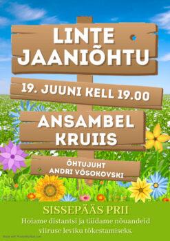 Linte jaaniõhtu @ endise Linte kaupluse õuealal | Linte | Põlva maakond | Eesti