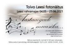 """Photo of Toivo Leesi fotonäitus """"Aastaaegade muusika"""" Leevi rahvamajas"""