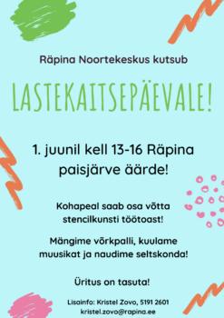 Lahe päev lastele ja noortele Räpina paisjärve ääres @ Räpina paisjärve ääres | Räpina | Põlva maakond | Eesti