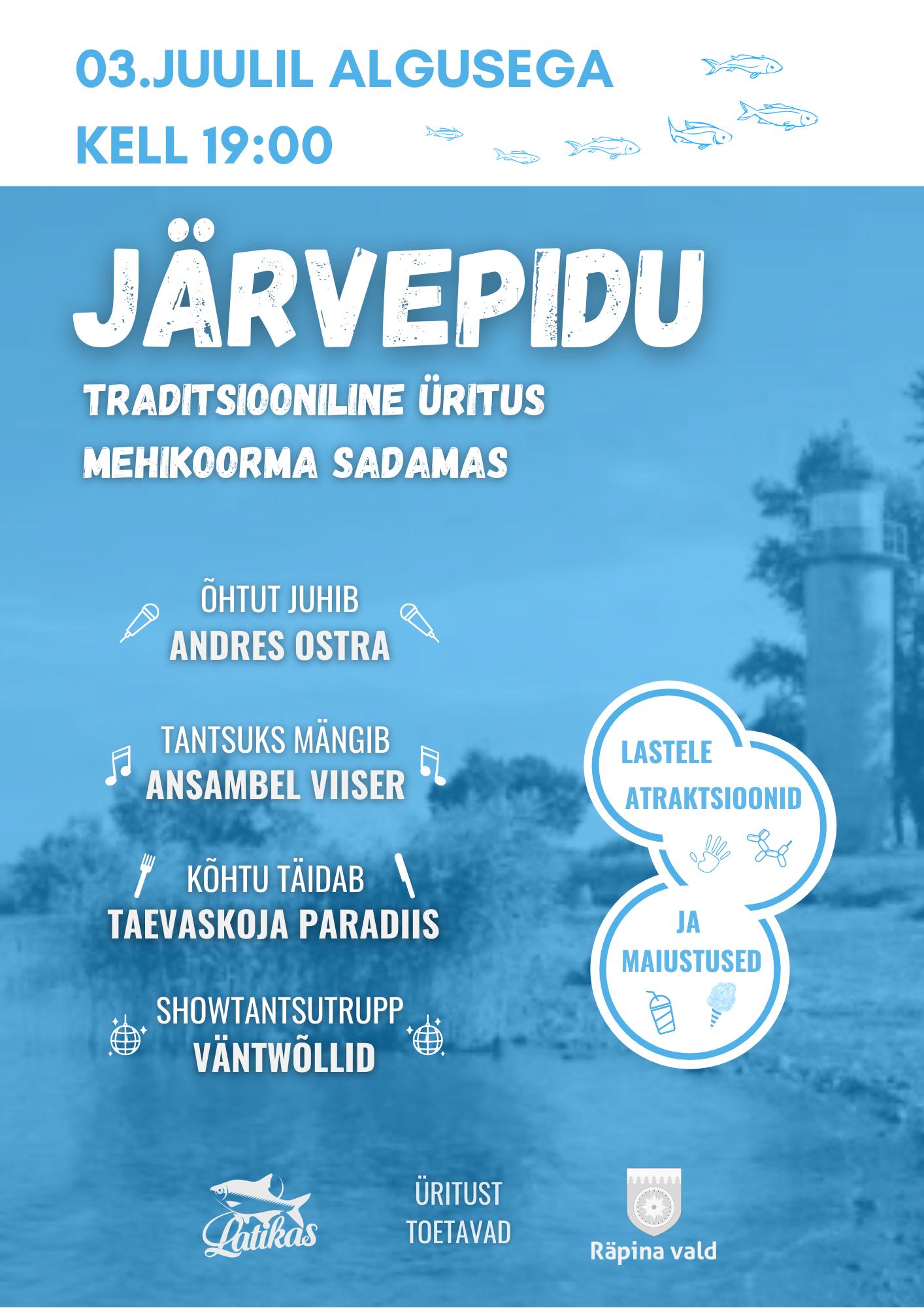 Järvepidu @ Mehikoorma sadam | Mehikoorma | Tartu maakond | Eesti