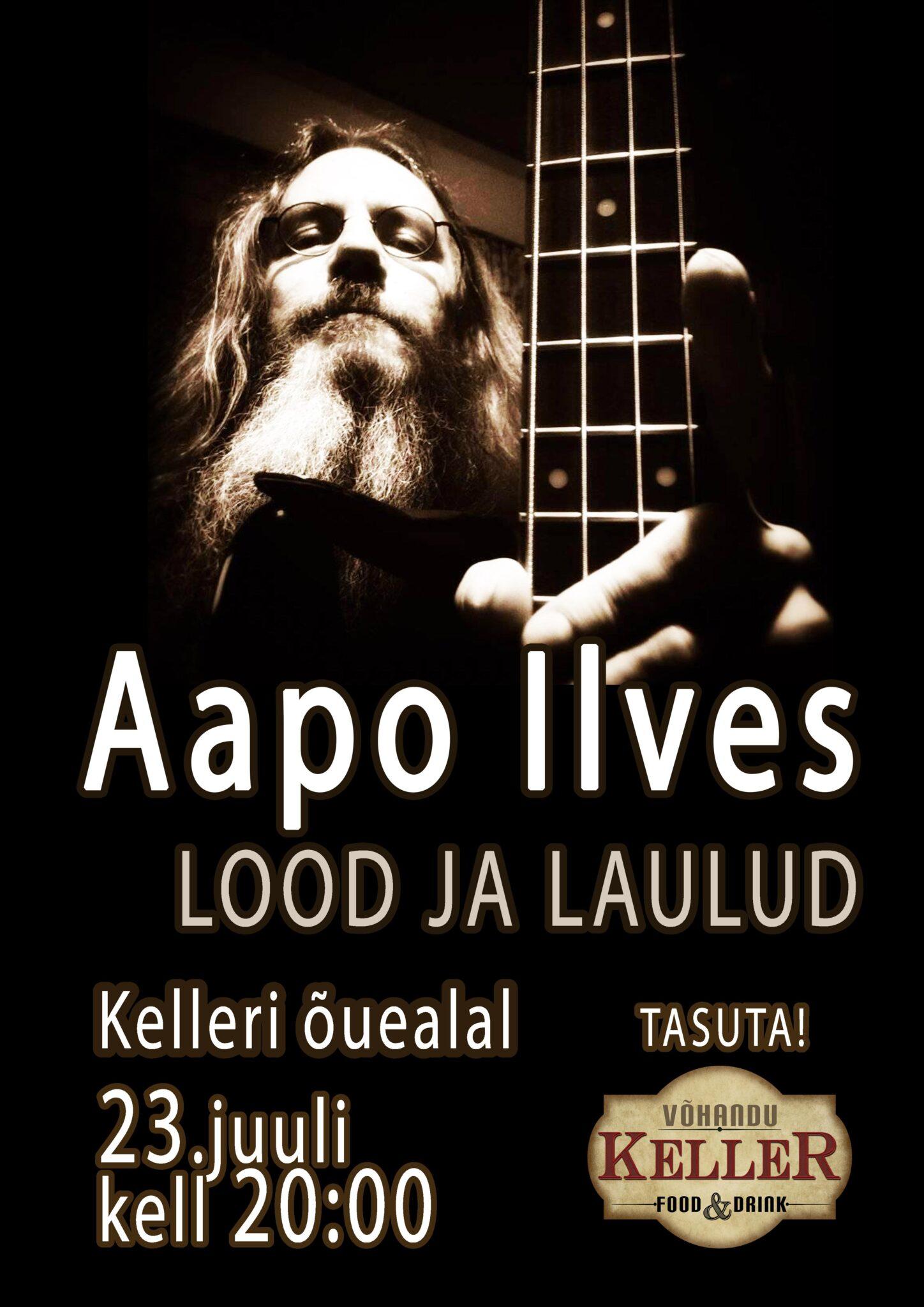 Aapo Ilvese kontsert @ Võhandu Kelleri õuealal | Räpina | Põlva maakond | Eesti