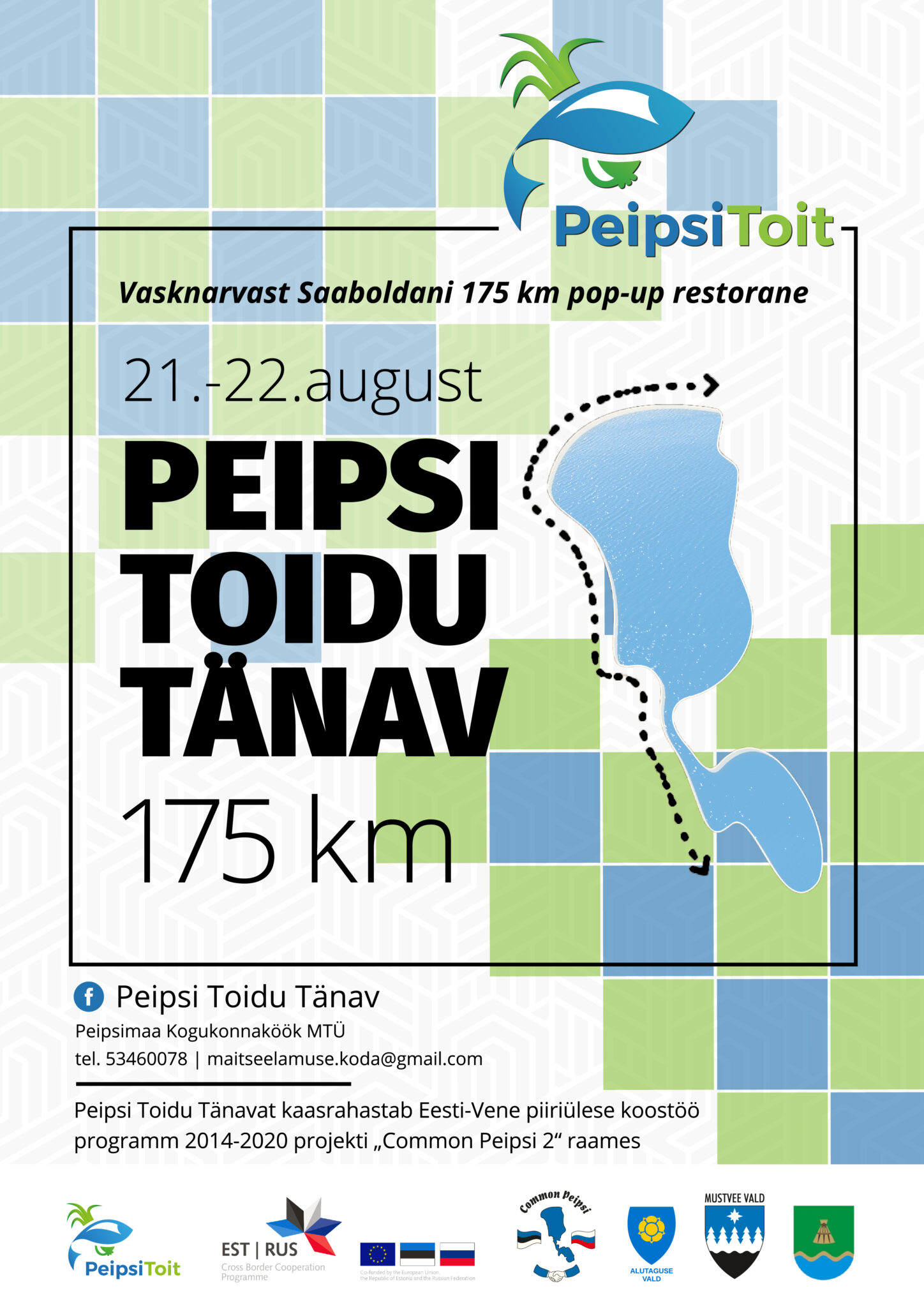 Peipsi Toidu Tänav 175km