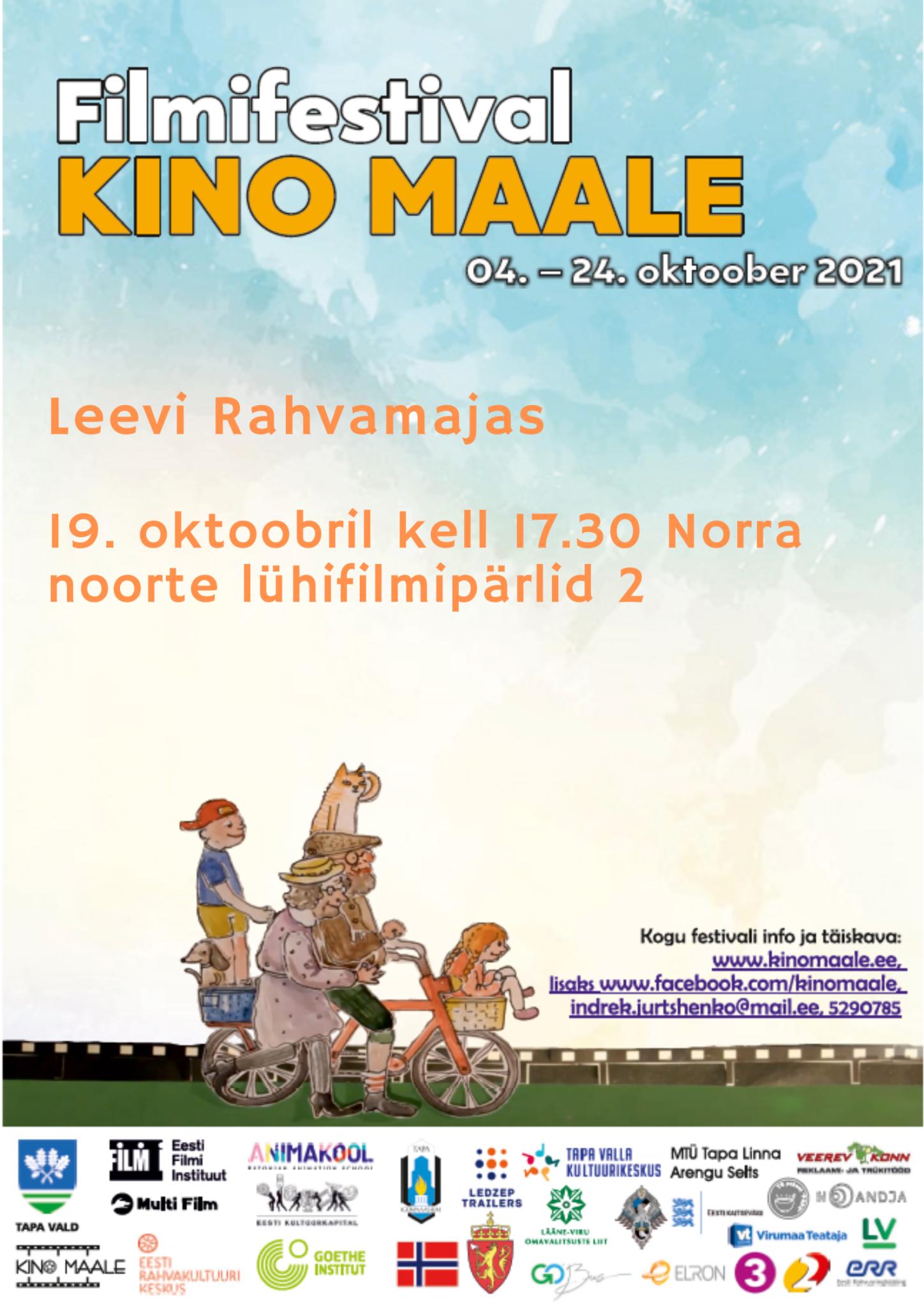 Filmifestival Kino maale: Norra noorte lühifilmipärlid 2 @ Leevi rahvamaja | Leevi | Põlva maakond | Eesti
